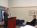 Roy Atkinson introduced Mayor Watson
