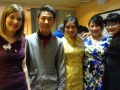 Roxanne Hamel, Qin Sheng, Cat Situ Hailin Wang and Maggie Yan.