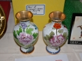 Vases donated by the Chinese Embassy were a popular item at the silent auction
