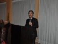 Greetings from the Chinese Embassy were presented by Deputy Chief of Mission, Wentian Wang