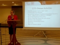 Roxanne Hamel, Vice President of the CCFS gave an overview of CCFS activities