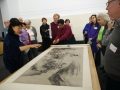 About 40 members of the CCFS-O took the gallery tour