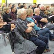 Professor Bell spoke at the Sandy Hill Community Centre