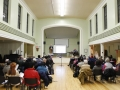 The presentation was held in Knox Presbyterian Church on Elgin Street