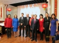 Members of the Executive with Ambassador Zhang Junsai