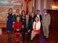 The 2016-2017 Executive of the CCFS Front Row l-r Lorraine Farkas, Roy Atkinson, Roxanne Hamel. Back Roy Tracey Tian, Diane Cartwright, Cat Situ, Nataly Azzi, Erqin Zeng, Yong-Zhi Wang, Peter Tarasoff